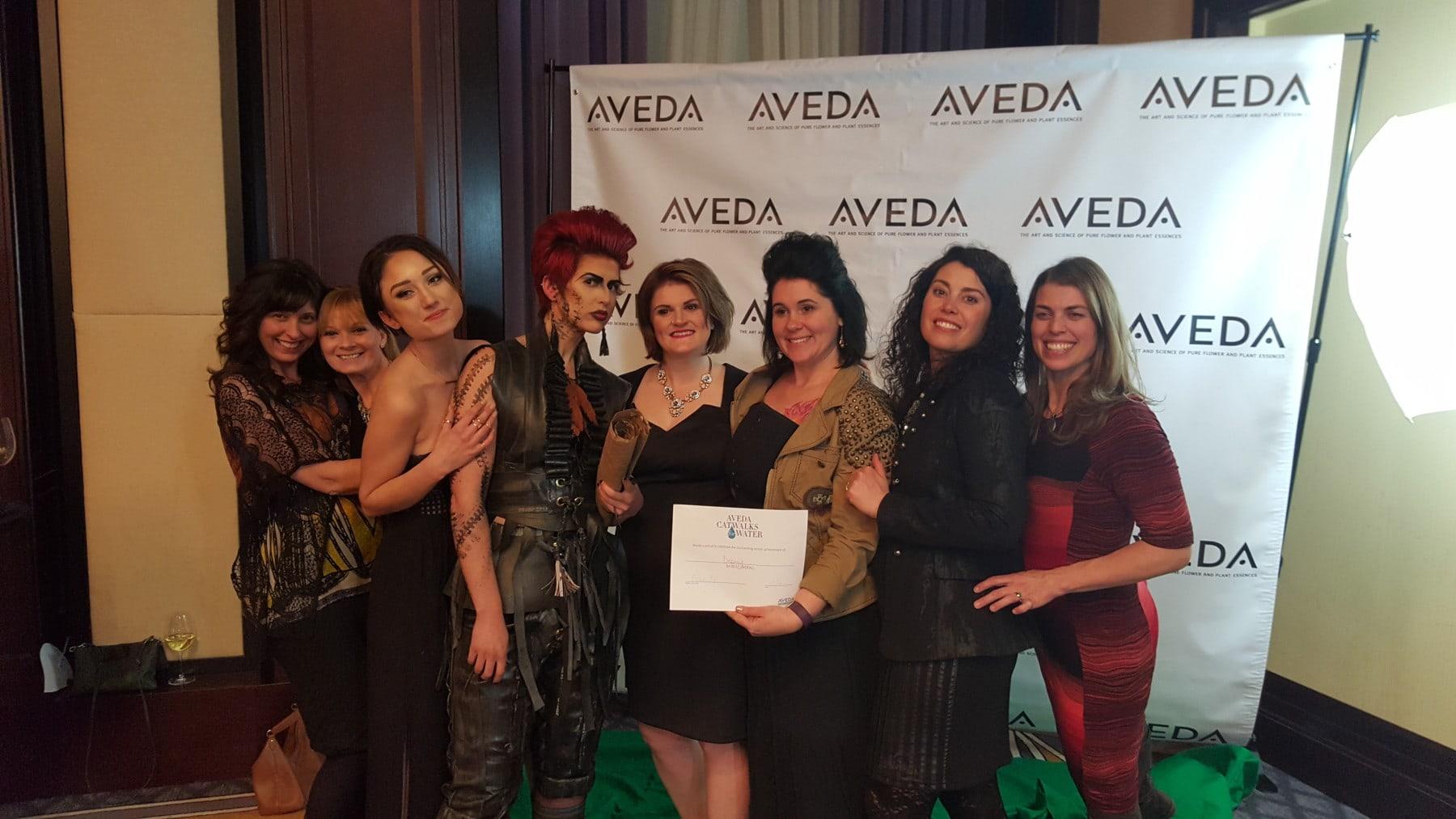 Aveda Fashion Show Boston